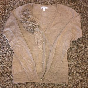 Woman's embellished cardigan